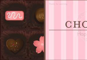 チョコレートで色んな形を覚える動画
