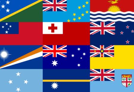 世界の国旗クイズ動画|大洋州(オセアニア)編 ぽよぽよ脳トレ